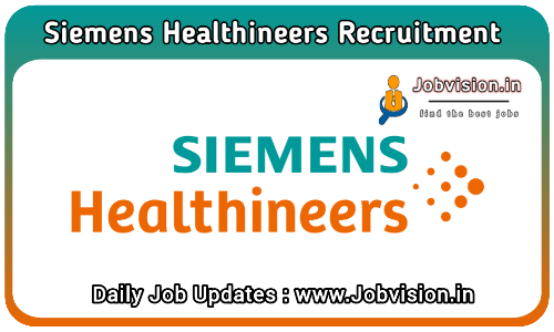 Siemens Healthineers Recruitment 2021
