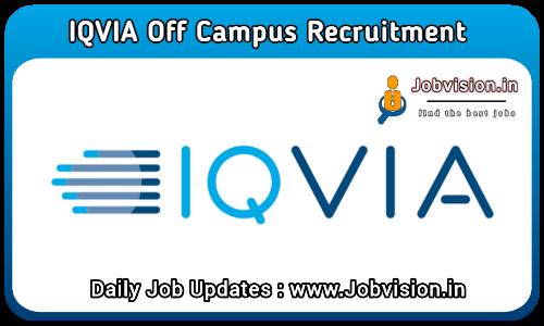 IQVIA Off Campus Recruitment 2021