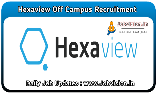 Hexaview Technologies Off Campus Drive 2021