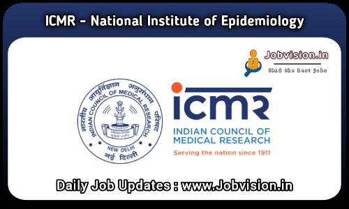 ICMR NIE Chennai Recruitment 2021