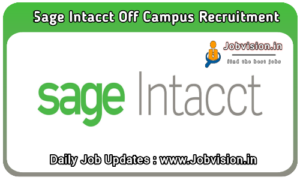 Sage Intacct Off Campus Drive