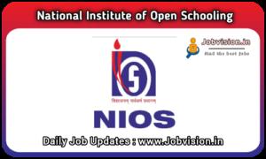 NIOS Recruitment