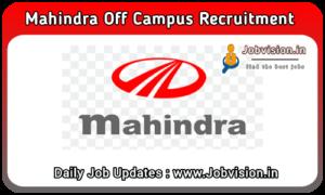 Mahindra Off Campus Drive