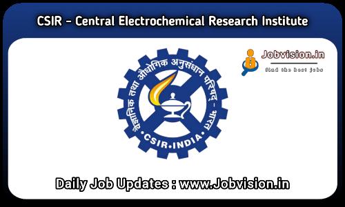 CECRI Technician Recruitment 2021