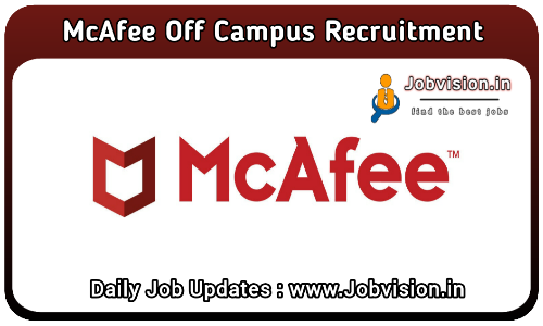 McAfee Off Campus Drive 2021