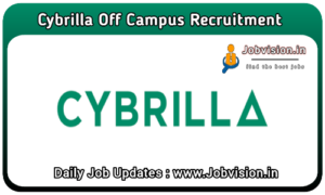 Cybrilla Technologies Off Campus Drive