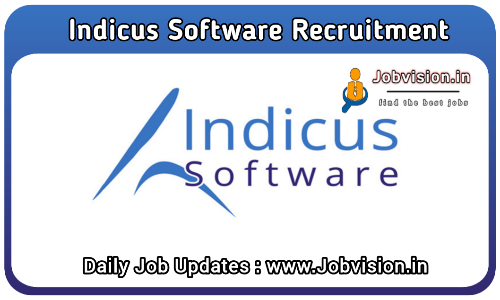 Indicus Software Off Campus Drive 2021