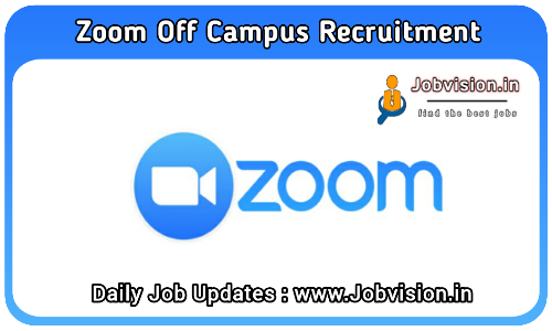 Zoom Careers Off Campus Drive 2021
