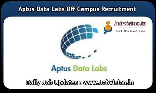 Aptus Data Labs Off Campus Drive 2021