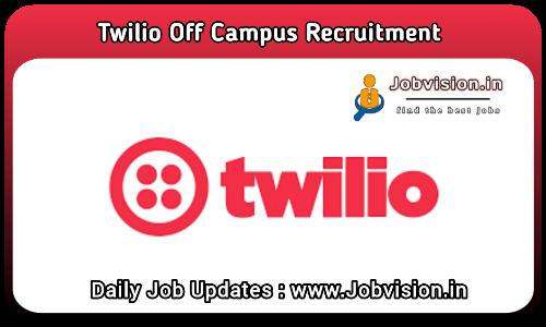 Twilio Off Campus Drive 2021