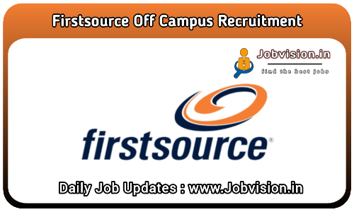 Firstsource Off Campus Drive 2021
