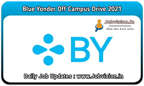 Blue Yonder Off Campus Drive 2021