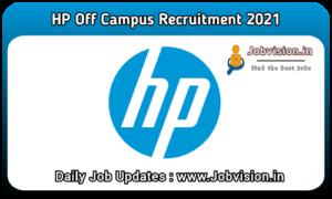 HP Hiring College Intern