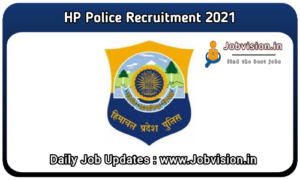 HP Police Recruitment 2021