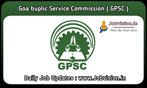 Goa PSC Recruitment 2021