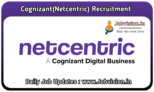 Cognizant (Netcentric) Off Campus Drive 2021