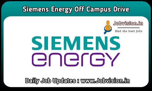 Siemens Energy Off Campus Drive 2021