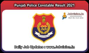 Punjab Police Result