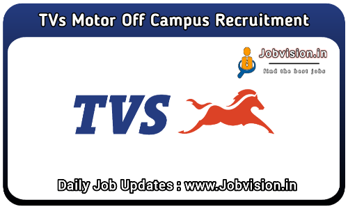 TVS Motor Off Campus Drive 2021