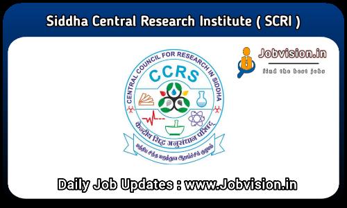 Siddha Council Recruitment 2021