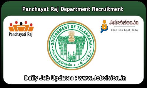 Telangana Junior Panchayat Secretary Recruitment 2021