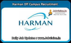 Harman Off Campus Drive