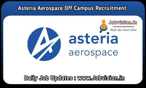 Asteria Aerospace Off Campus Drive 2021