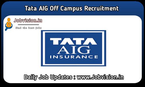 Tata AIG Off Campus Drive 2021