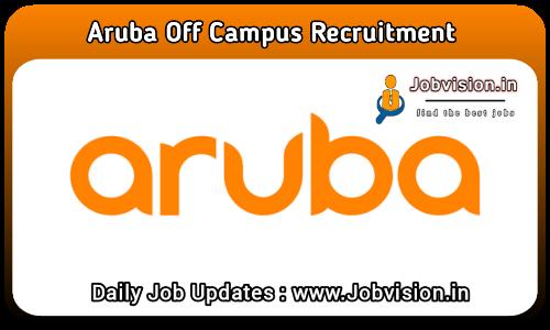 Aruba (Hewlett Packard Enterprise) Off Campus Drive 2021