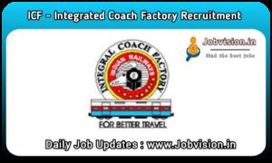ICF - Integral Coach Factory Recruitment