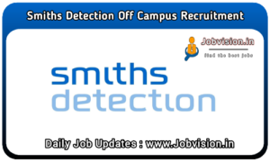 Smiths Detection Off Campus Drive