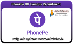 PhonePe Off Campus Drive
