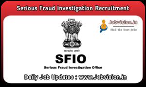 SFIO Recruitment