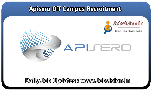 Apisero Off Campus Drive 2021