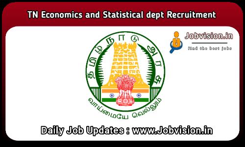 Department of Economics and Statistics Recruitment 2021