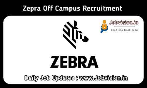 Zebra Technologies Off campus Drive 2021