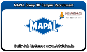 MAPAL Group Off Campus Drive