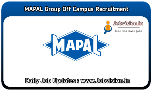 MAPAL Group Off Campus Drive 2021