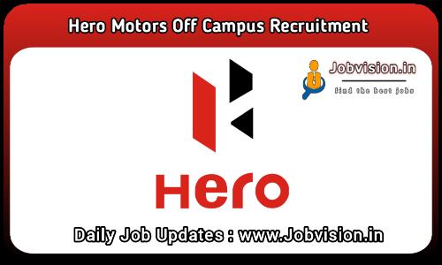 Hero MotoCorp Off Campus Drive 2021