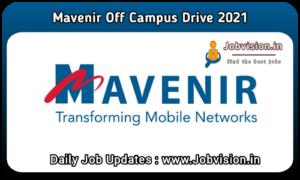 Mavenir Off Campus Drive