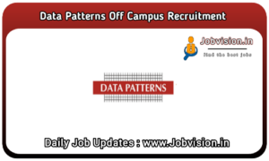 Data Patterns Off Campus Drive