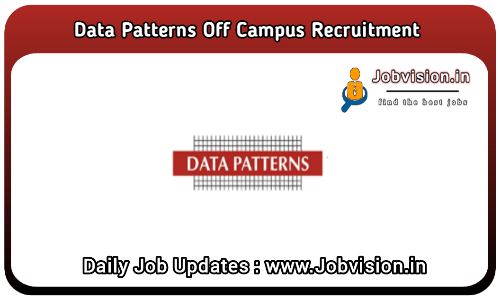 Data Patterns Off Campus Drive 2021