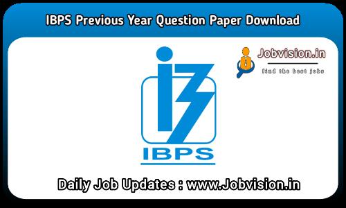 IBPS Clerk Previous Question Paper