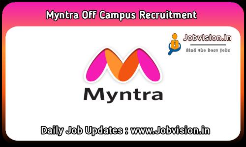 Myntra Off Campus Drive 2021