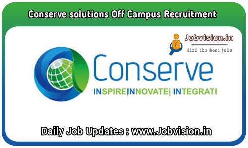 Conserve Solutions Off Campus Drive 2021